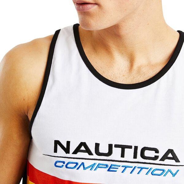 Nautica Competition Chine Singlet, True Black, hi-res