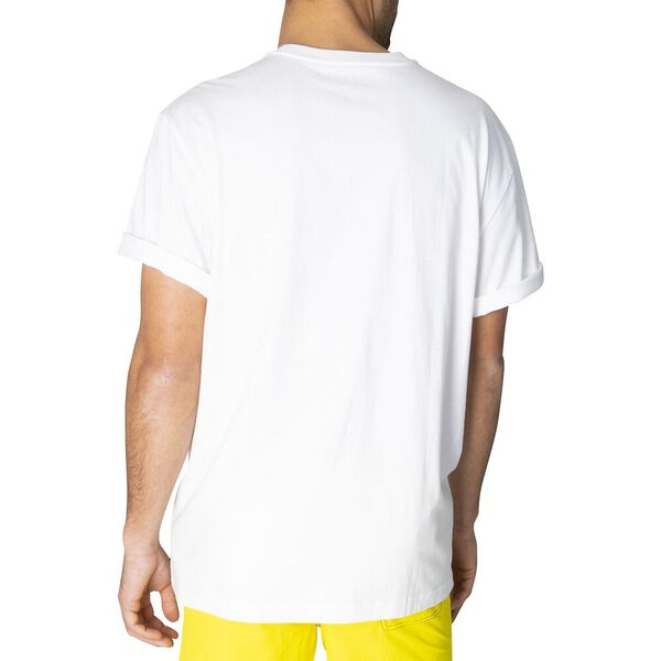 Big & Tall Branded Logo Nautica Tee, Bright White, hi-res