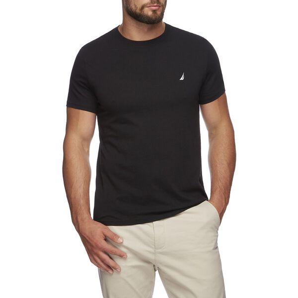 Short Sleeve Anchor Logo Tee, True Black, hi-res