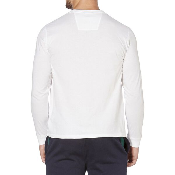 Classic Fit Long Sleeve Tee, Bright White, hi-res