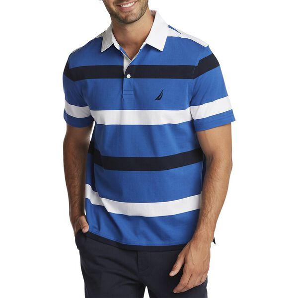 By The Sea Polo Shirt, Windsurf Blue, hi-res
