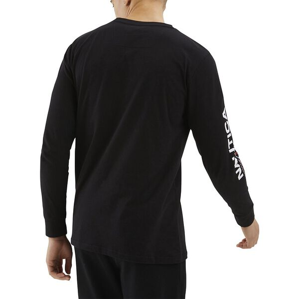 Nautica Competition Laveer Tee, Black, hi-res