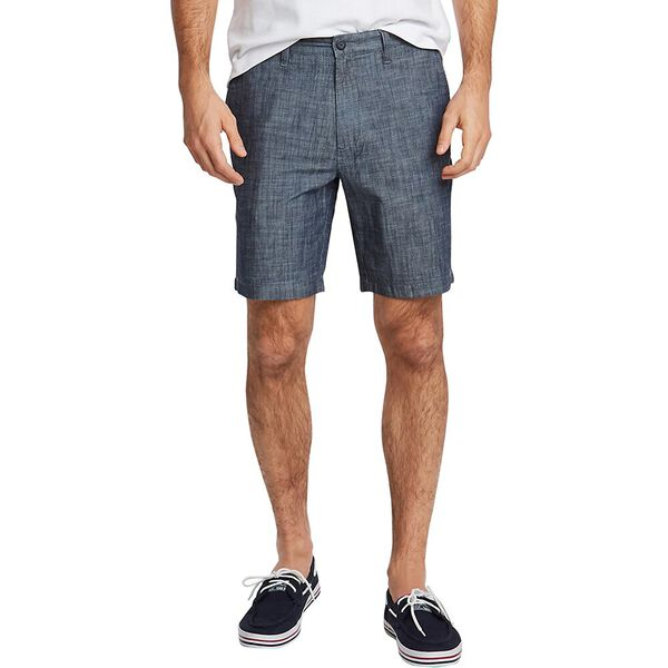 Chambray Deck Short, Real Indigo, hi-res