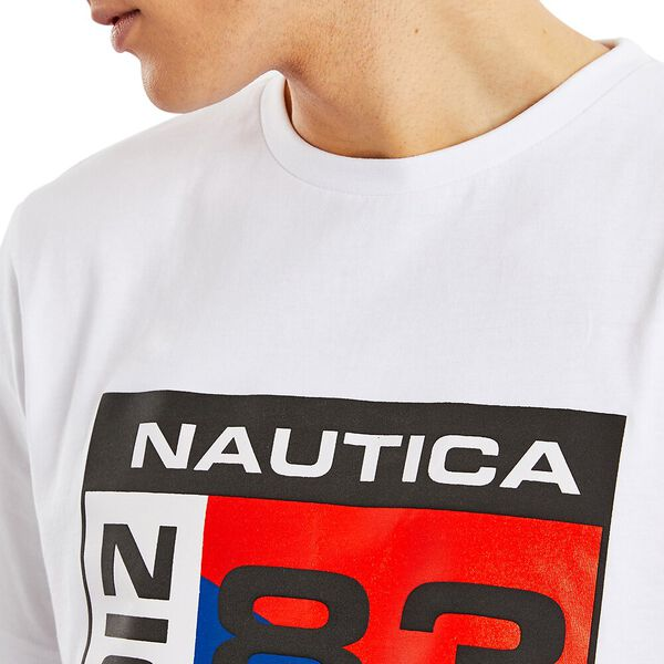Nautica Competition Lagan Tee, Bright White, hi-res