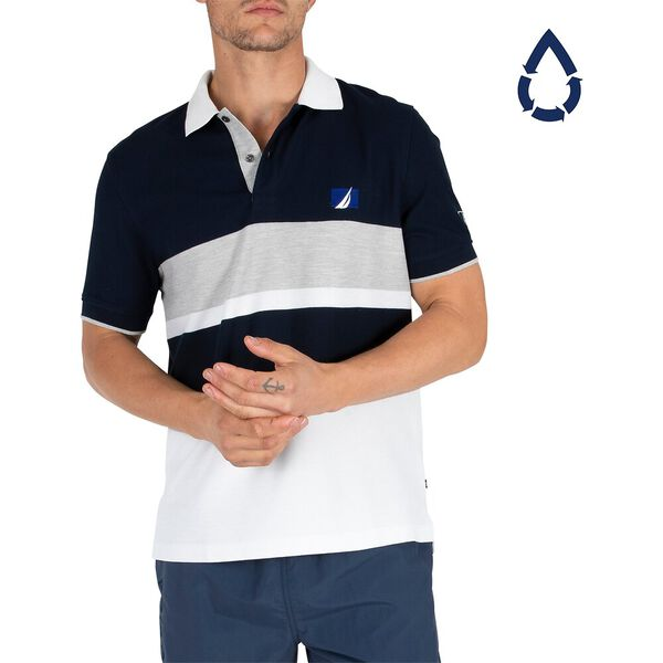 Sustainably Crafted Navtech Blocked Polo