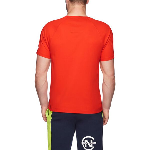 Nautica Competition Cooling Short Sleeve Tee, Fiery Red, hi-res