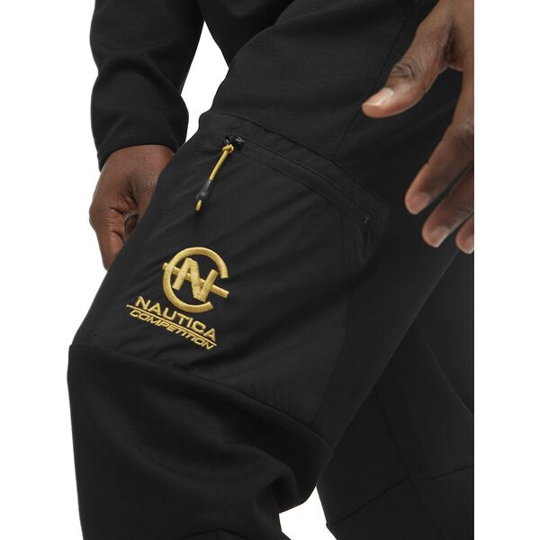 Nautica Competition Adams Track Pants, Black, hi-res