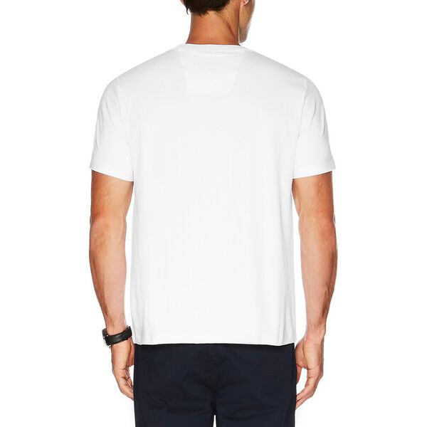 Big & Tall Active Stretch Pocket Tee, Bright White, hi-res