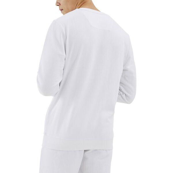 Nautica Competition Collier Sweater, White, hi-res