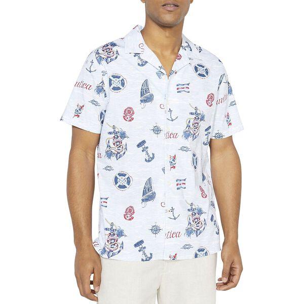 Nautica Jeans Co. Nautical Print Shirt