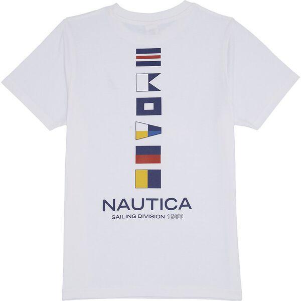 Boys 8 - 14 Danny T-Shirt, White, hi-res