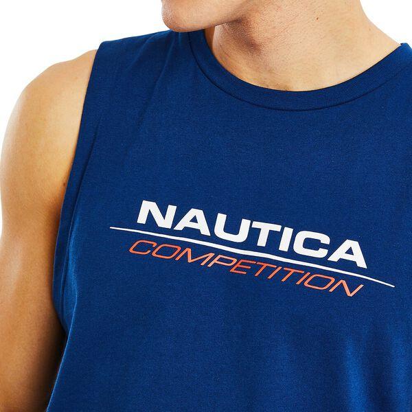 Nautica Competition Blackburn Singlet, Navy, hi-res