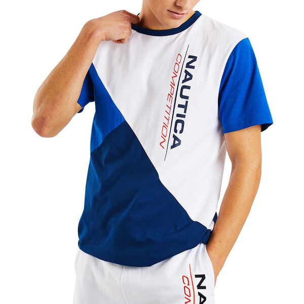 Nautica Competition Guthrie Tee, Spinner Blue, hi-res