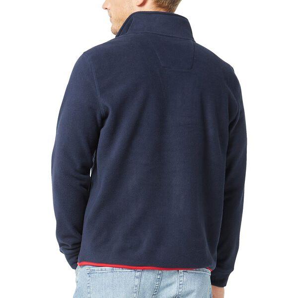 Nautex Pop Collar Half Zip Fleece, Navy, hi-res