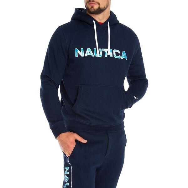 Nautica Essential Hoodie, Navy, hi-res