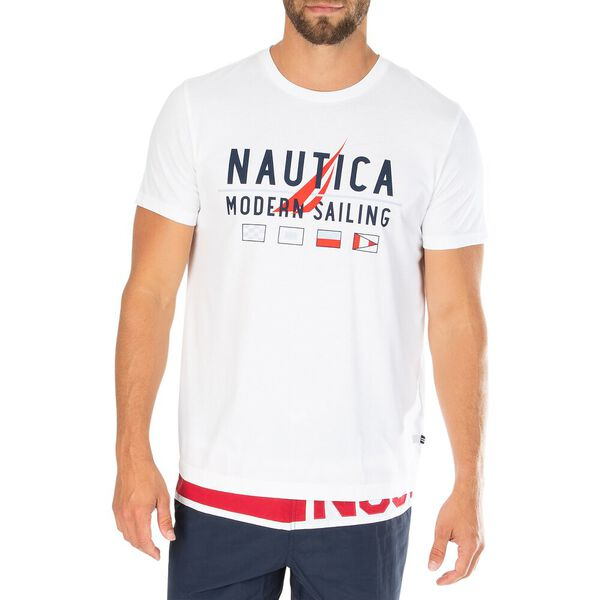 Reinvent Your Sailing Tee, Bright White, hi-res