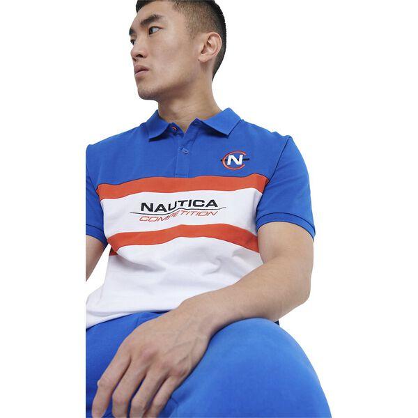 Nautica Competition Billard Polo, Blue, hi-res