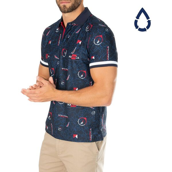 Sustainably Crafted J. Class And Flags Polo