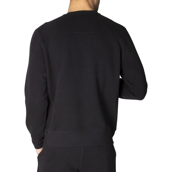 Nautica Unisex Essential Sweater, True Black, hi-res