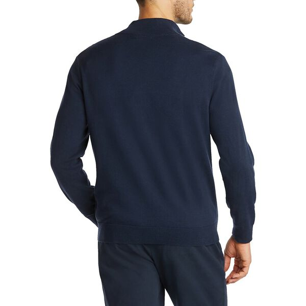 Navtech Solid Quarter Zip Sweater, Navy, hi-res