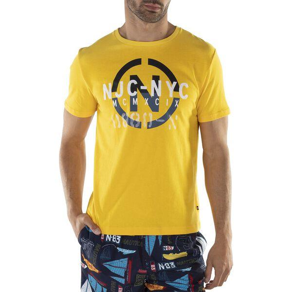 Nautica Jeans Co. NYC Tee, Lemon Chrome, hi-res