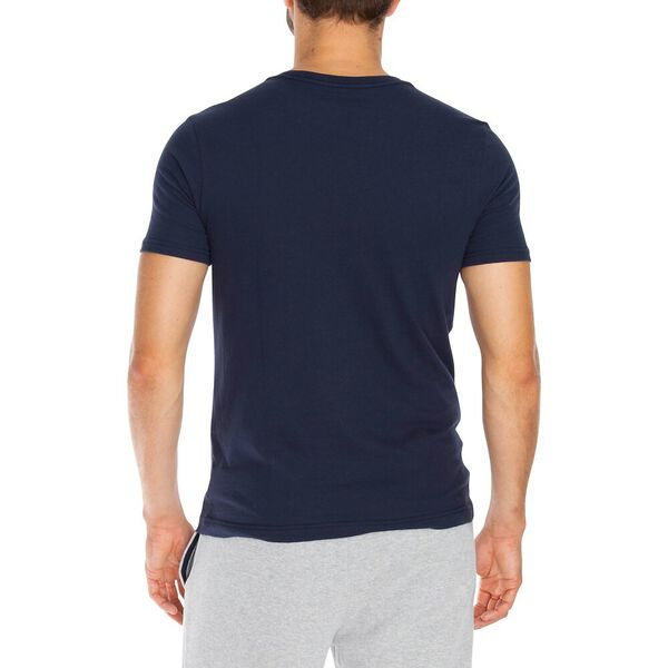 Competition Logo Reflective Tee, Navy, hi-res