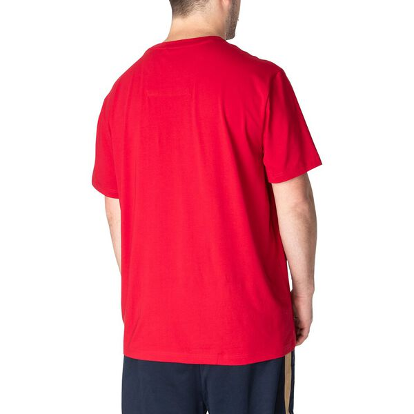 Big & Tall Active Stretch Pocket Tee, Nautica Red, hi-res