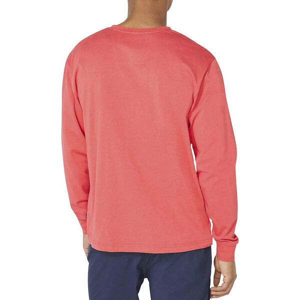 Pop Vintage Long Sleeve Tee, Rose Coral, hi-res