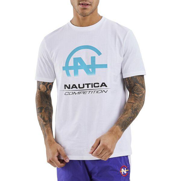 Nautica Competition Bulkhead Tee, White, hi-res