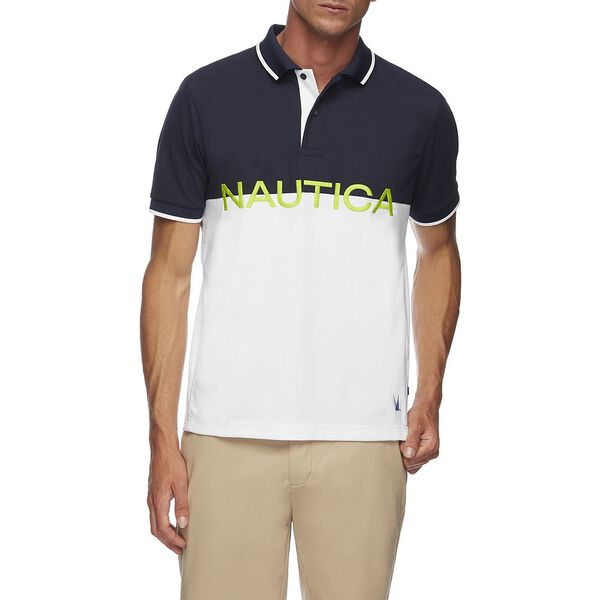 BLUE SAIL LOGO KNOCKOUT POLO