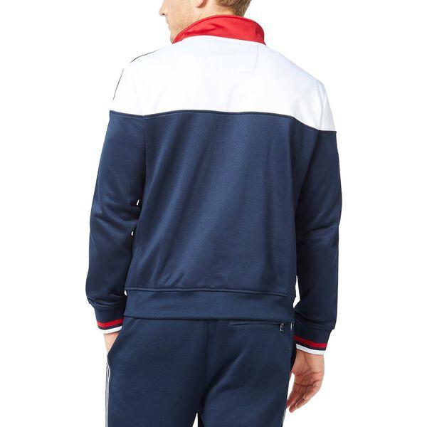 Retro Shine Track Jacket, Navy, hi-res