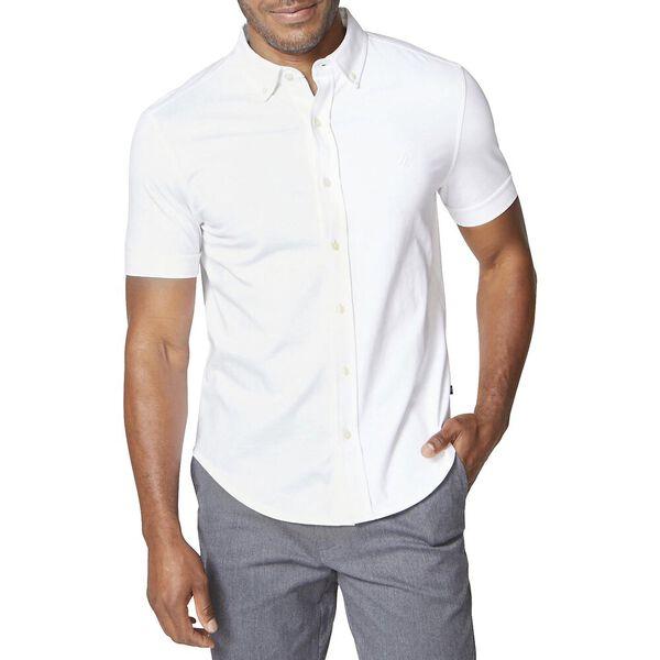 Jersey Short Sleeve Shirt, Bright White, hi-res