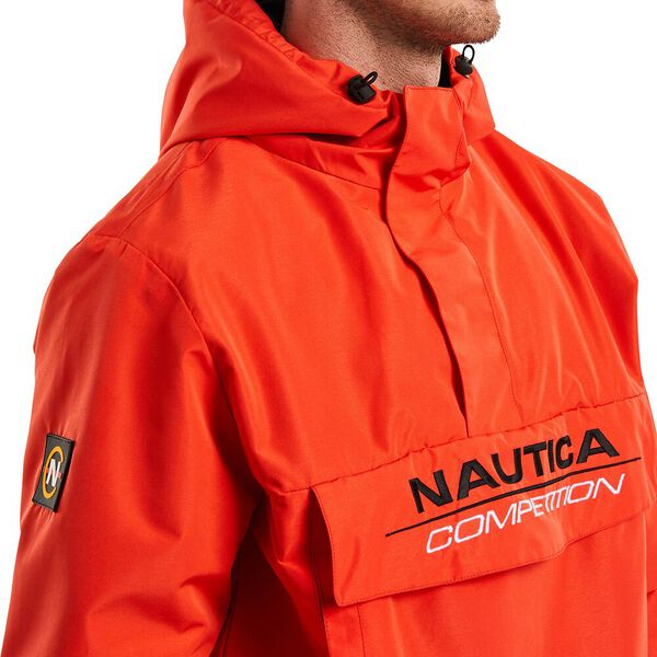 Nautica Competition Cowl 1/4 Zip Windbreaker, Nautica Red, hi-res
