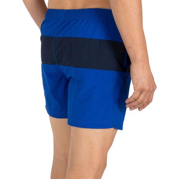 "N83 Flag 6"" Swim Shorts, Cobalt Blue, hi-res"