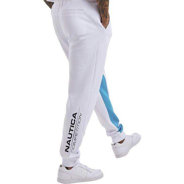 Nautica Competition Parrel Track  Pants, White, hi-res