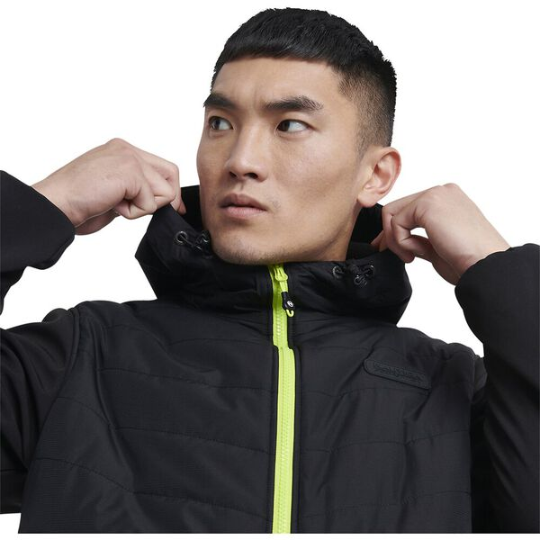 Nautica Competition Ezile Jacket, Black/Green, hi-res