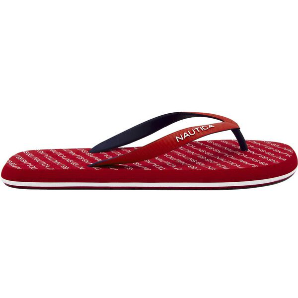 DEL RAY THONGS, NAUTICA RED, hi-res