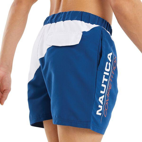 Nautica Competition Gunnage Swim Shorts, Navy, hi-res