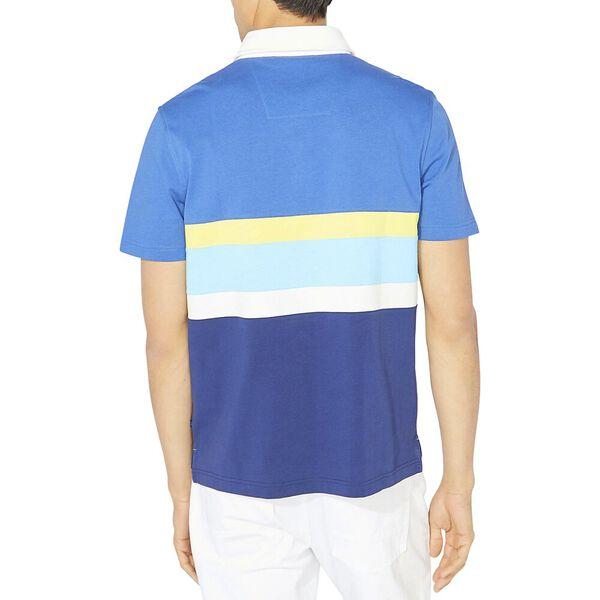 Classic Fit Ivy Colourblock Polo, Windsurf Blue, hi-res