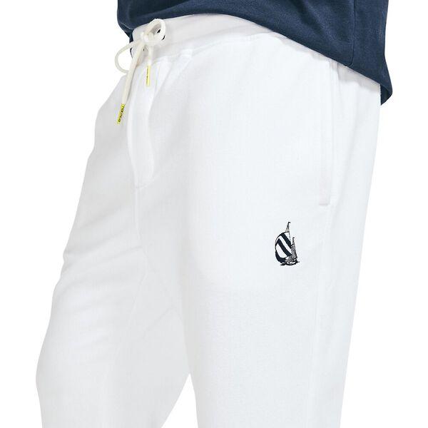 Locked on Spinnaker Track Pants, White, hi-res