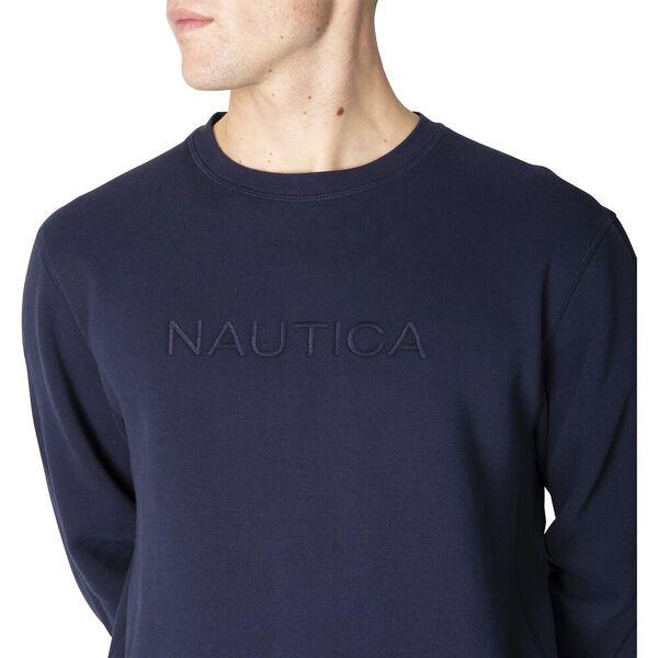 Nautica Always Ready Sweater, Navy, hi-res