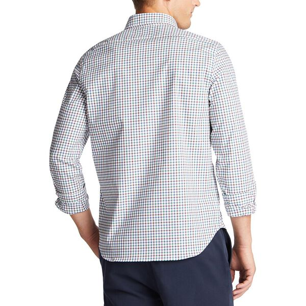 Plaid Wrinkle Resistant  Shirt, Spruce, hi-res