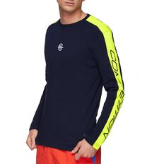NAUTICA COMPETITION BLOCK LONG SLEEVE TEE