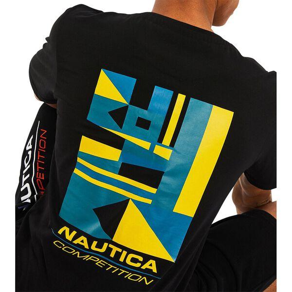 Nautica Competition Sampson Tee, True Black, hi-res