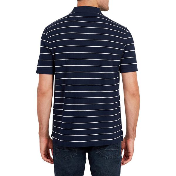 Classic Fit Stripe Deck Polo Shirt, Navy, hi-res