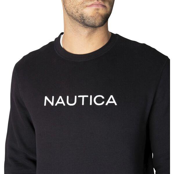 Nautica Essential Sweater, True Black, hi-res