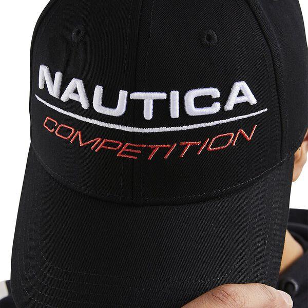 Nautica Competition Tappa Snapback Cap, Black, hi-res