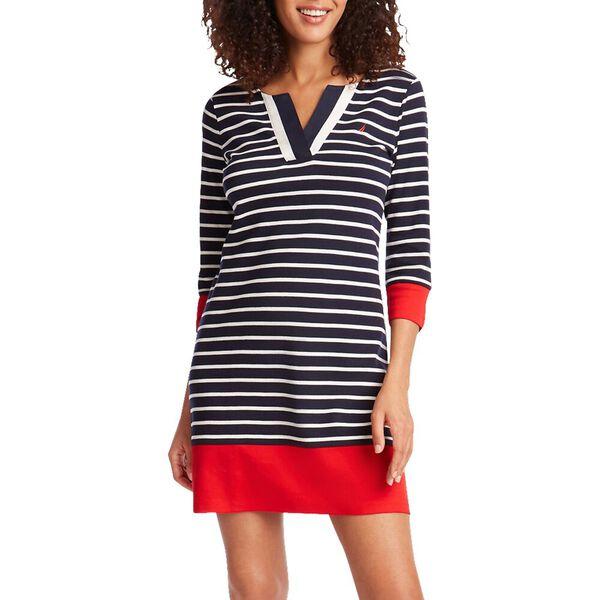 Nautica Stripe Knit Dress
