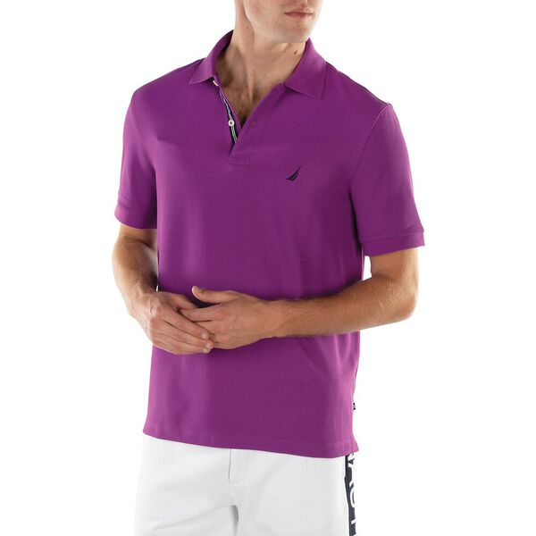 CLASSIC FIT PERFORMANCE POLO, ELECTRIC PURPLE, hi-res