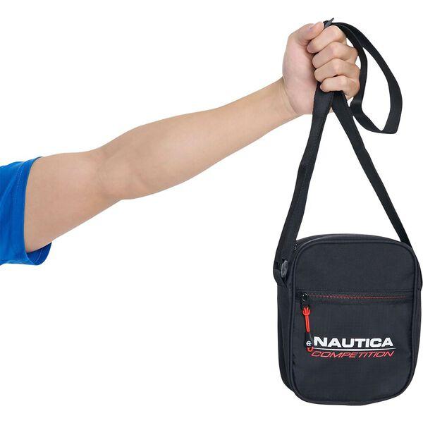 Nautica Competition Trunnel Cross Body Bag, Black, hi-res